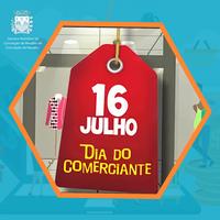 16 de julho, dia do Comerciante