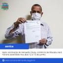 Após solicitação do Vereador Guta, Comércio de Macabu terá horário estendido nos dias 12 e 13 de junho.
