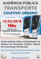 Audiência pública debaterá implantação do serviço de transporte coletivo urbano em Conceição de Macabu