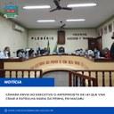 Câmara envia ao Executivo o Anteprojeto de Lei que visa criar a Patrulha Maria da Penha, em Conceição de Macabu
