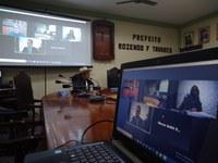 Câmara Macabu estreia sessão por videoconferência como medida de prevenção ao Covid-19