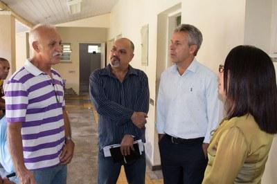 Diretor do Rego Barros e presidente da Fia relatam a situação de calamidade vivida por funcionários e internos do Educandário.