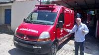 Pedido do vereador Barcelos Resina é atendido e ambulância reserva do Corpo de Bombeiros já está em Macabu