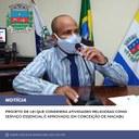 Projeto de Lei que considera atividades religiosas como serviço essencial é aprovado, em Conceição de Macabu