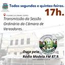 Anota aí: Todas segundas e quintas-feiras tem Sessão Ordinária da Câmara Municipal de Conceição de Macabu