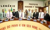 Toninho da Saúde é reeleito presidente da Câmara Municipal de Conceição de Macabu