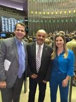 Vereador Barcelos Resina retorna a Conceição de Macabu após cumprir agenda de cinco dias em Brasilia.