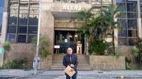 Vereador Barcelos Resina solicita instalação de redutores de velocidade na RJ 182 e 196