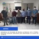Vereadores de Conceição de Macabu se reúnem com o Prefeito Municipal, buscando alternativas para flexibilização no horário do comércio.